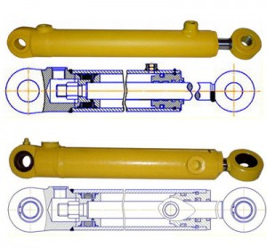 Купить гидравлические цилиндры для спецтехники